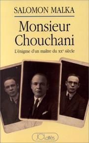 livre Chouchani