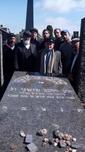 Chouchani s grave August 2014