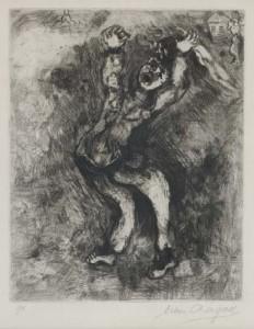 Fou qui vent la Sagesse - Marc Chagall