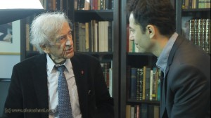 Elie Wiesel and Michael