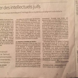 article Chouchani Le Monde2