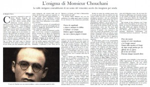 Chouchani in the Vatican